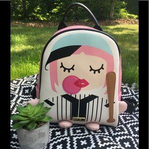 ⚾️NWT⚾️ Betsey Johnson Stripe LBMIRA Backpack
